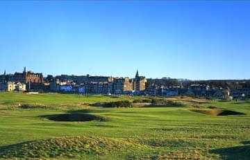 St Andrews Links. New Course